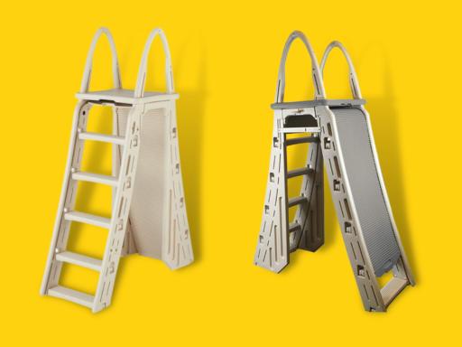48 inch pool ladder with platform