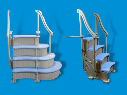confer curve pool steps