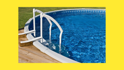 how to weigh down pool steps